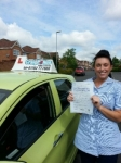 Nicola Morris passed with Craig Polles Driver Training
