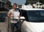 Oliver Davenhill passed with Craig Polles Driver Training