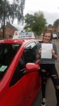 Megan Brown passed with Craig Polles Driver Training