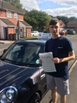 Liam Forster passed with Craig Polles Driver Training