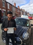 Johns Abraham passed with Craig Polles Driver Training