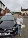 Trina Cook passed with Craig Polles Driver Training