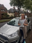Cosmina Schiteanu passed with Craig Polles Driver Training