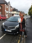 Tanveez Akhtar passed with Craig Polles Driver Training