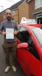 James McDermott passed with Craig Polles Driver Training
