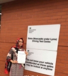 Asma Kouser passed with Craig Polles Driver Training