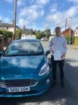 John Parrish passed with Craig Polles Driver Training