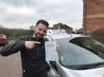 Pablo passed with Craig Polles Driver Training
