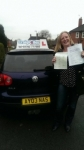 Penny Howard passed with Craig Polles Driver Training