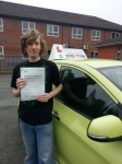 Peter passed with Craig Polles Driver Training