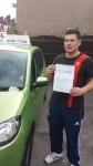 Pietro Lanza passed with Craig Polles Driver Training