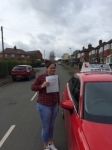 Rachel Lambert passed with Craig Polles Driver Training