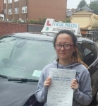 Rachel Lee passed with Craig Polles Driver Training