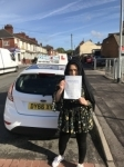 Radia Bibi passed with Craig Polles Driver Training