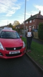 Rebecca Morris passed with Craig Polles Driver Training