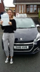 Rebecca Viles passed with Craig Polles Driver Training