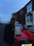 Reju Miah passed with Craig Polles Driver Training