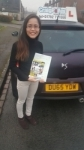 Rhea Meakin passed with Craig Polles Driver Training