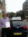 Rob Parnell passed with Craig Polles Driver Training