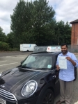 Robin Joy passed with Craig Polles Driver Training