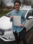 Ronnie Hoe Y Lee passed with Craig Polles Driver Training
