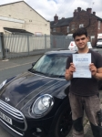Safa Mohammad passed with Craig Polles Driver Training