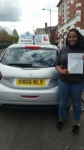 Salma Hussein Albakri passed with Craig Polles Driver Training