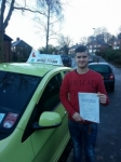 Sam Brown passed with Craig Polles Driver Training