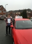 Sam Kelter passed with Craig Polles Driver Training