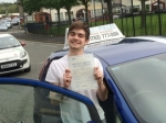 Sam passed with Craig Polles Driver Training