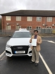 Samsul Islam passed with Craig Polles Driver Training