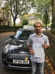 Santhosh Jacob passed with Craig Polles Driver Training