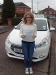 Sara Evans passed with Craig Polles Driver Training