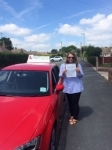 Sarah Casewell passed with Craig Polles Driver Training