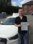 Scott passed with Craig Polles Driver Training
