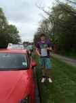 Seb Höglund-Abdollahian passed with Craig Polles Driver Training