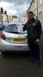 Sediq Khan passed with Craig Polles Driver Training