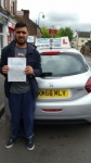 Sharif Khalily passed with Craig Polles Driver Training