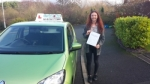 Sharna Baggaley passed with Craig Polles Driver Training
