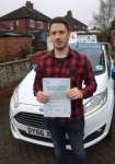 Shaun Cartlidge passed with Craig Polles Driver Training