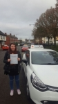 Sian McMain passed with Craig Polles Driver Training