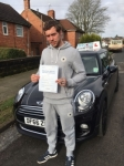 Simon Taylor Edwards passed with Craig Polles Driver Training