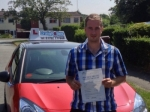 Simon passed with Craig Polles Driver Training