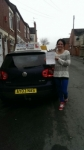 Sintija Cuska passed with Craig Polles Driver Training