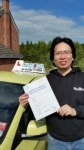 Song Ye passed with Craig Polles Driver Training