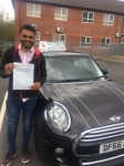 Sooraj Gopalan passed with Craig Polles Driver Training