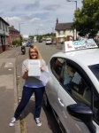 Stacey passed with Craig Polles Driver Training