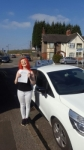 Steph Blairss passed with Craig Polles Driver Training