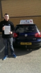 Syed Omare Bukhari passed with Craig Polles Driver Training