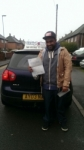 Tayeb Billal passed with Craig Polles Driver Training